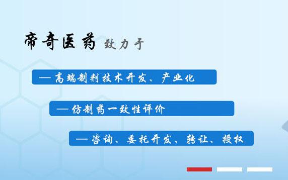 广州帝奇医药技术有限公司